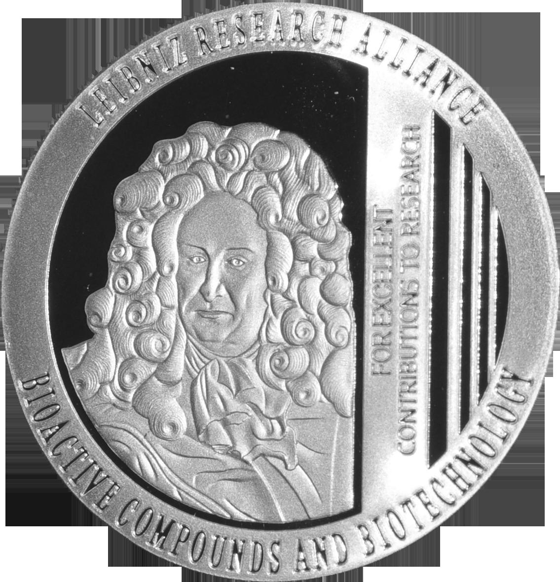 Leibniz-Kopf_Medaille